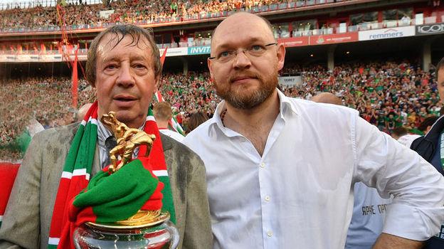 Юрий СЕМИН (слева) и Илья ГЕРКУС. Фото Александр ФЕДОРОВ, «СЭ»