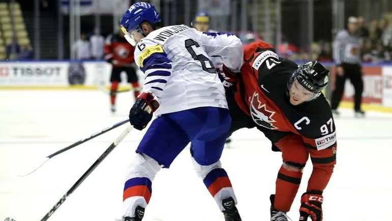 Капитан сборной Канады Коннор МАКДЭВИД (№97). Фото REUTERS