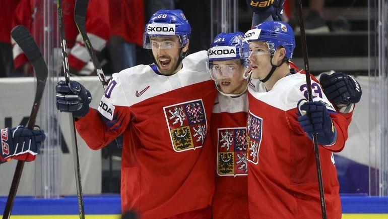 8 мая. Дания. Чемпионат мира. Чехия – Швейцария – 5:4 Б. Фото ANDRE RINGUETTE / HHOF-IIHF IMAGES