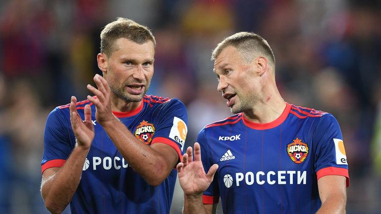 Алексей (слева) и Василий БЕРЕЗУЦКИЕ. Фото Александр ФЕДОРОВ, «СЭ»