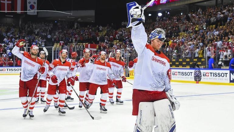 Дания. Чемпионат мира. Финляндия – Дания – 2:3. Фото  MATT ZAMBONIN / HHOF-IIHF IMAGES