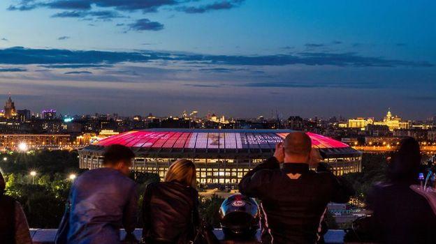"""Вид на стадион """"Лужники"""". Фото AFP"""