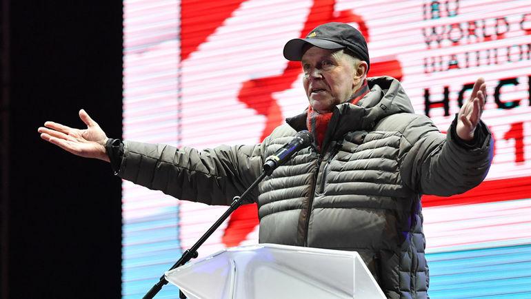 Президент Международного союза биатлонистов Андерс БЕССЕБЕРГ. Фото AFP