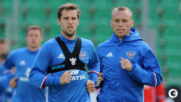 Дмитрий КОМБАРОВ (слева) и Денис ГЛУШАКОВ.