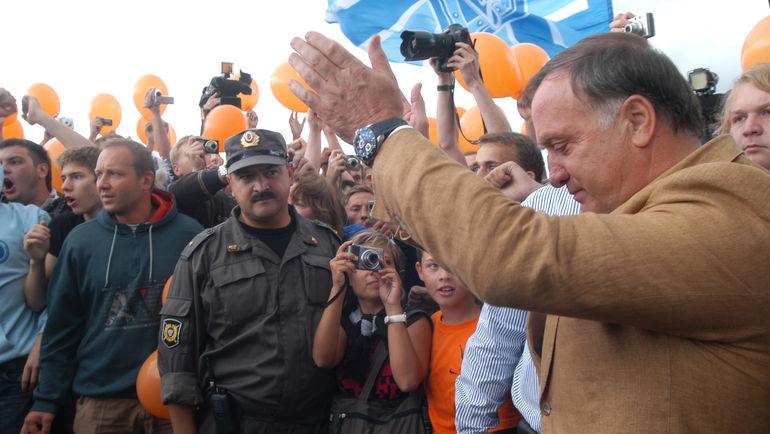 Прощание Дика АДВОКАТА с Санкт-Петербургом в 2009 году вышло трогательным. Он уехал, но порой возвращается. Фото Ирина ЗЫГАРЬ