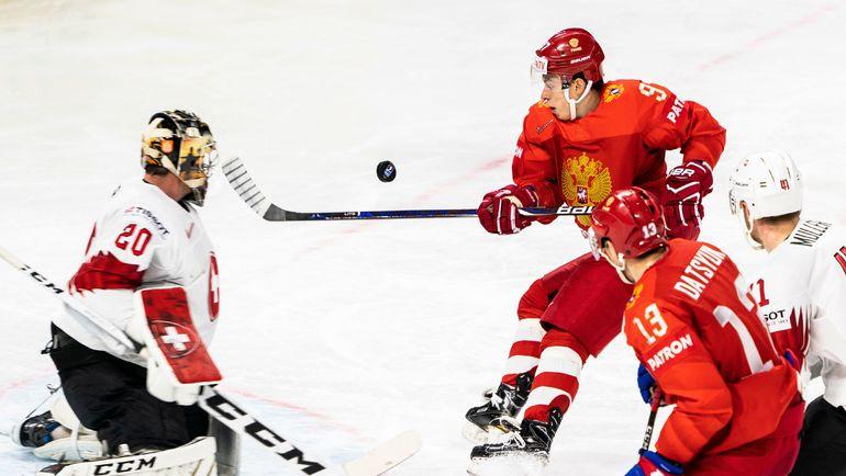 Суббота. Копенгаген. Россия – Швейцария – 4:3. Россияне одержали четвертую победу на чемпионате мира. Фото AFP