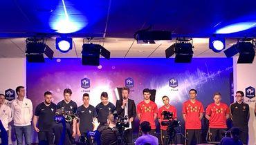 Франция разгромила Бельгию в киберфутбольном товарищеском матче