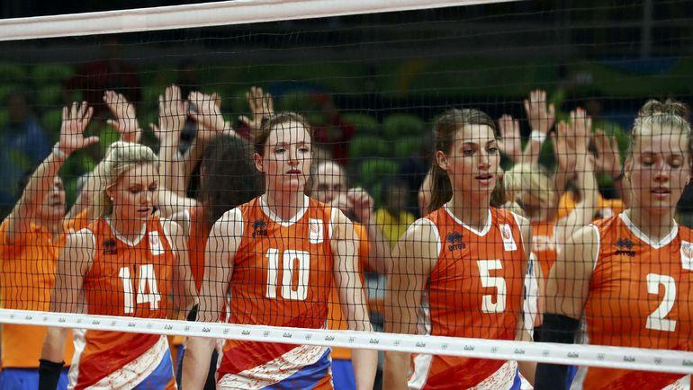 Сборная Голландии - полуфиналист Олимпийских игр. Фото REUTERS