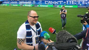 """Болельщик """"Зенита"""" Иван ЗАМАНКОВ."""