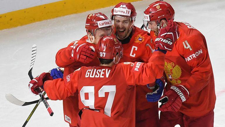 Если сборная России обыграет Швецию, то, скорее всего, избежит матча с Канадой в четвертьфинале чемпионата мира. Фото AFP