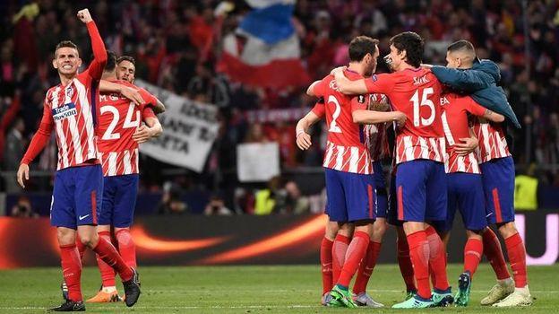 """""""Атлетико"""" - фаворит финала Лиги Европы? Фото AFP"""