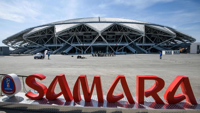 """Самара Арена"". Фото AFP"