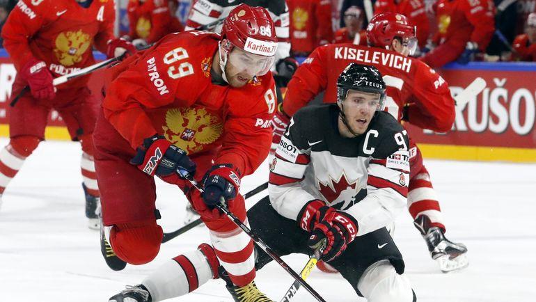 Сегодня. Копенгаген. Россия - Канада - 4:5 ОТ. Фото REUTERS