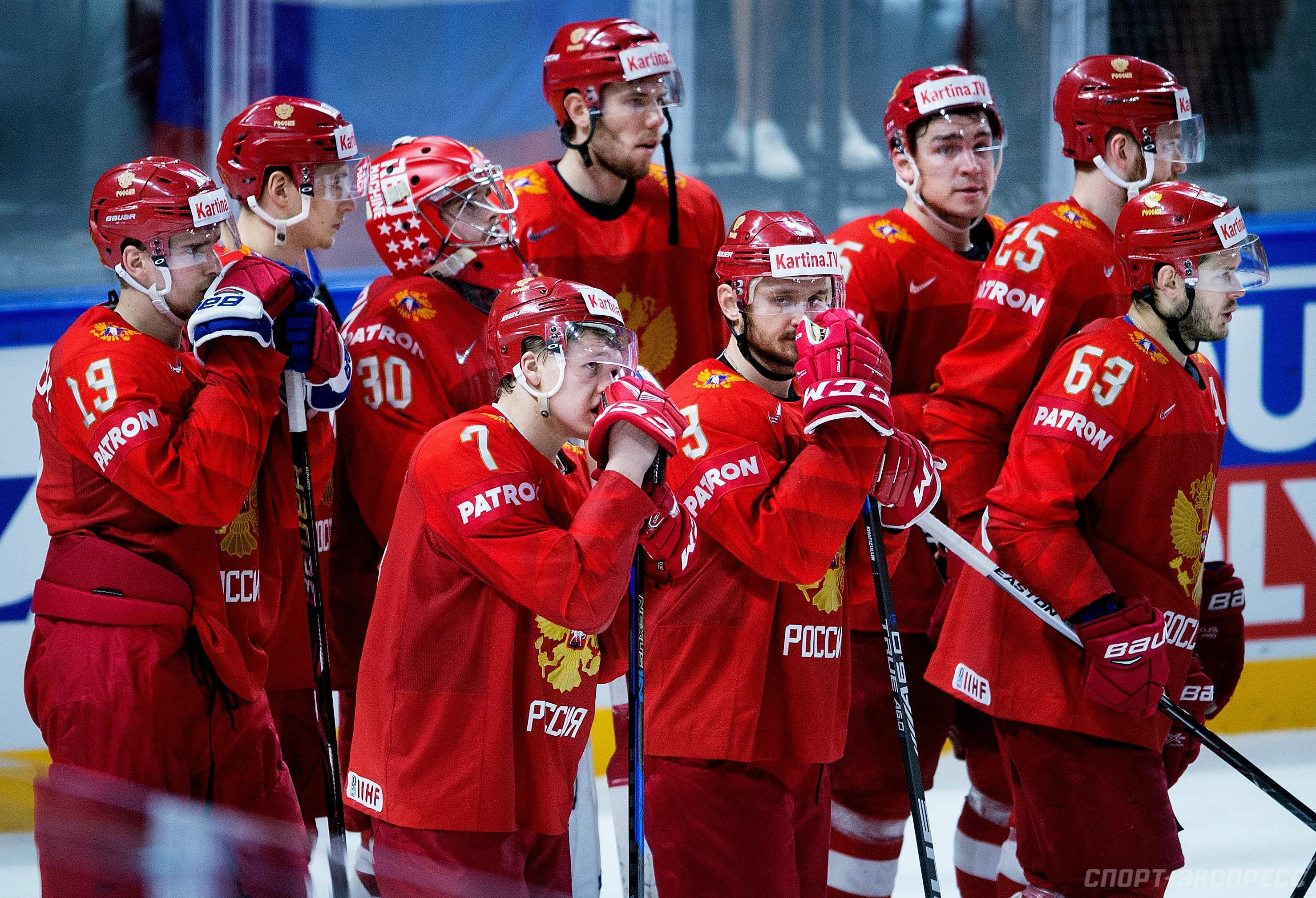 Ставки на матч Канада – Россия, Чемпионат мира по хоккею 2018