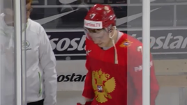Кирилл КАПРИЗОВ после победного гола покидает штрафной бокс.