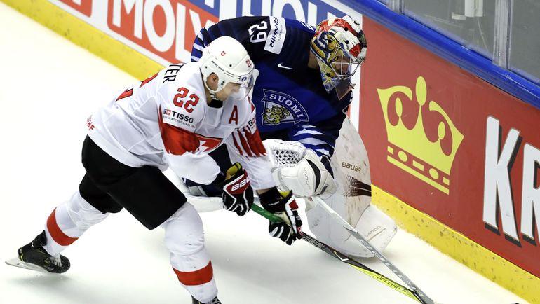 Четверг. Хернинг. Финляндия – Швейцария – 2:3. Финны не смогли выйти в полуфинал ЧМ. Фото REUTERS