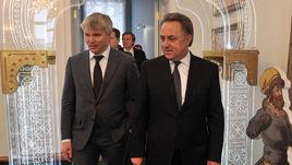 Виталий МУТКО (справа) и Павел КОЛОБКОВ.