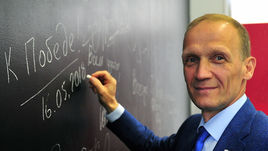 Владимир ДРАЧЕВ за два дня до победы на выборах главы СБР.
