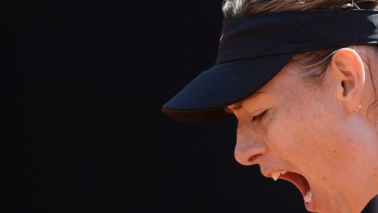 Эмоции Марии ШАРАПОВОЙ. Фото AFP