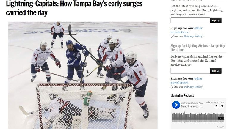 The Tampa Bay Times.