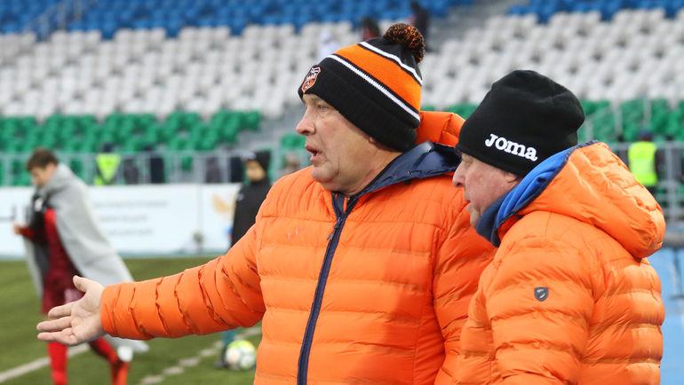 Григорий ИВАНОВ (слева) и Александр ТАРХАНОВ. Фото Валерий ШАХОВ