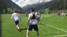 Сборная Росссии готовится к ЧМ-2018 в Австрии.