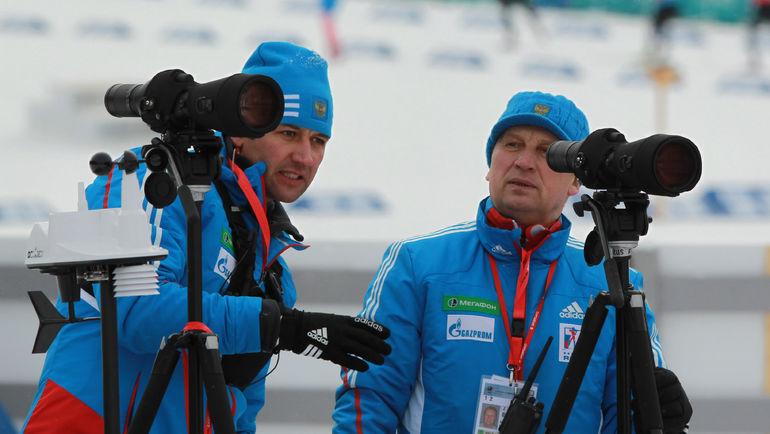 Валерий ПОЛЬХОВСКИЙ (справа). Фото СБР
