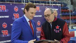 Игорь ЕСМАНТОВИЧ (справа) и Сергей ФЕДОРОВ.