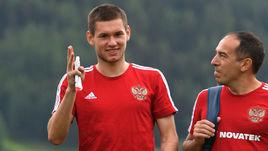 Александр ТАШАЕВ (слева) и физиотерапевт сборной России Серхио Габриэль ДЕ САН МАРТИН.