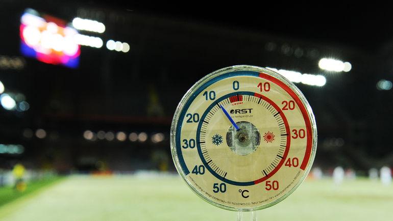 """Матч теперь пройдет не в любую погоду - официально. Фото Александр ФЕДОРОВ, """"СЭ"""""""