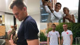 Чем занимаются игроки сборной России.