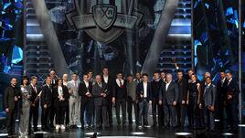 Вчера. Барвиха. Все лауреаты 10-го сезона КХЛ - на одной сцене.