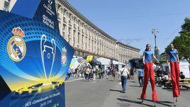 Киев в ожидании финала Лиги чемпионов.
