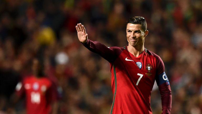 Лидер и главная звезда сборной Португалии КРИШТИАНУ РОНАЛДУ. Фото AFP