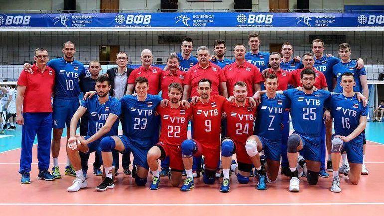 Сборная России. Фото ВФВ, instagram.com/volley_rus/
