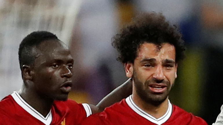 Садио МАНЕ (слева) и Мохамед САЛАХ (справа). Фото REUTERS
