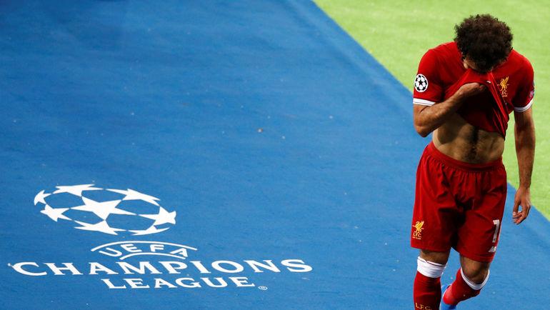 """Суббота. Киев. """"Реал"""" - """"Ливерпуль"""" - 3:1. Мохамед САЛАХ. Фото REUTERS"""