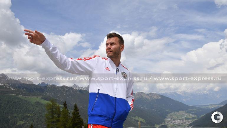 27 мая. Нойштифт. Игорь АКИНФЕЕВ на альпийских высотах.