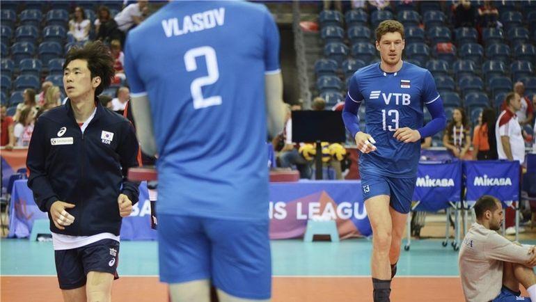 Воскресенье. Краков. Корея - Россия - 0:3. Фото fivb.org