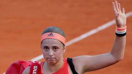 Остапенко как Мыскина. События первого дня Roland Garros