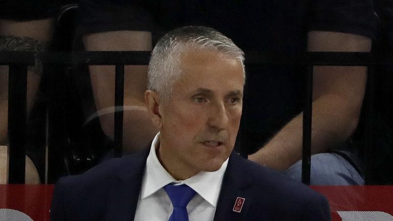 Боб ХАРТЛИ - главный тренер сборной Латвии на чемпионате мира в Дании. Фото Reuters