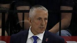 Боб ХАРТЛИ - главный тренер сборной Латвии на чемпионате мира в Дании.