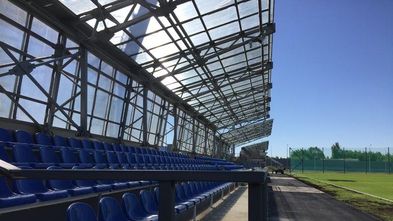 """Стадион """"Глебовец"""". Фото Филипп ПАПЕНКОВ, «СЭ»"""