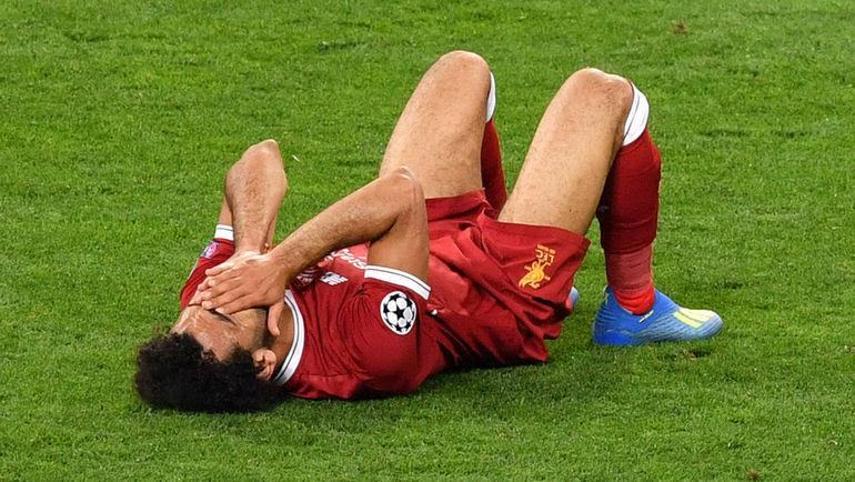 """Суббота. Киев. """"Реал"""" - """"Ливерпуль"""" - 3:1. Эмоции Мохамеда САЛАХА. Фото AFP"""