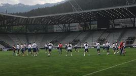 Россия в Австрии: день перед матчем. Онлайн.