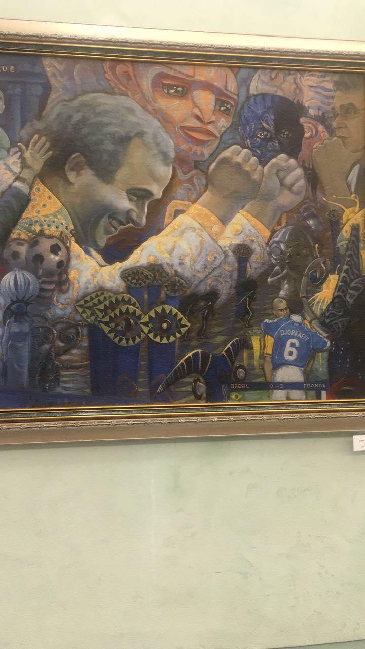 """Мишель Платини. Фото Дмитрий СИМОНОВ, """"СЭ"""""""