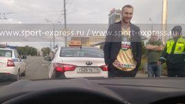 Ярослав КОСОВ после встречи с сотрудниками ГИБДД.