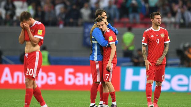 Сборная России не смогла выйти из группы на Кубке конфедераций. Фото Александр ФЕДОРОВ, «СЭ»