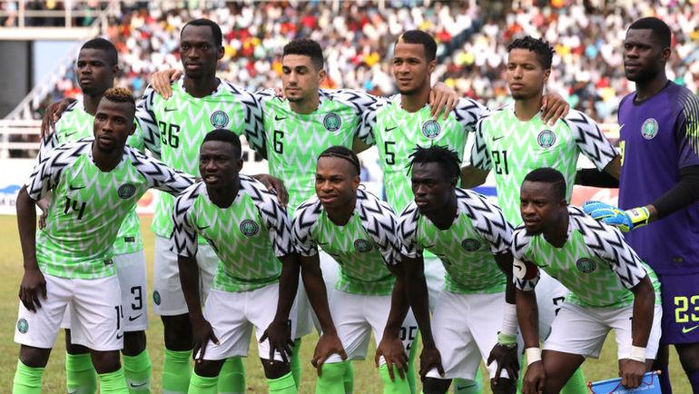 Игроки сборной Нигерии. Фото REUTERS