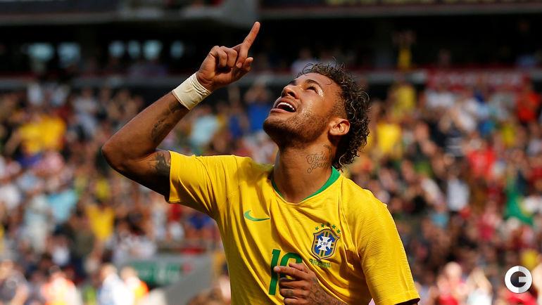 3 июня. Ливерпуль. Бразилия - Хорватия - 2:0. НЕЙМАР.